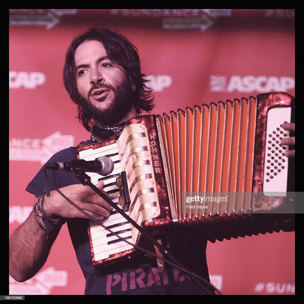 An alternate view of Musician <a gi-track='captionPersonalityLinkClicked' href=/galleries/search?phrase=Rami+Jaffee&family=editorial&specificpeople=234780 ng-click='$event.stopPropagation()'>Rami Jaffee</a> performing during Day 2 of ASCAP Music Cafe at Sundance ASCAP Music Cafe during the 2013 Sundance Film Festival on January 19, 2013 in Park City, Utah.