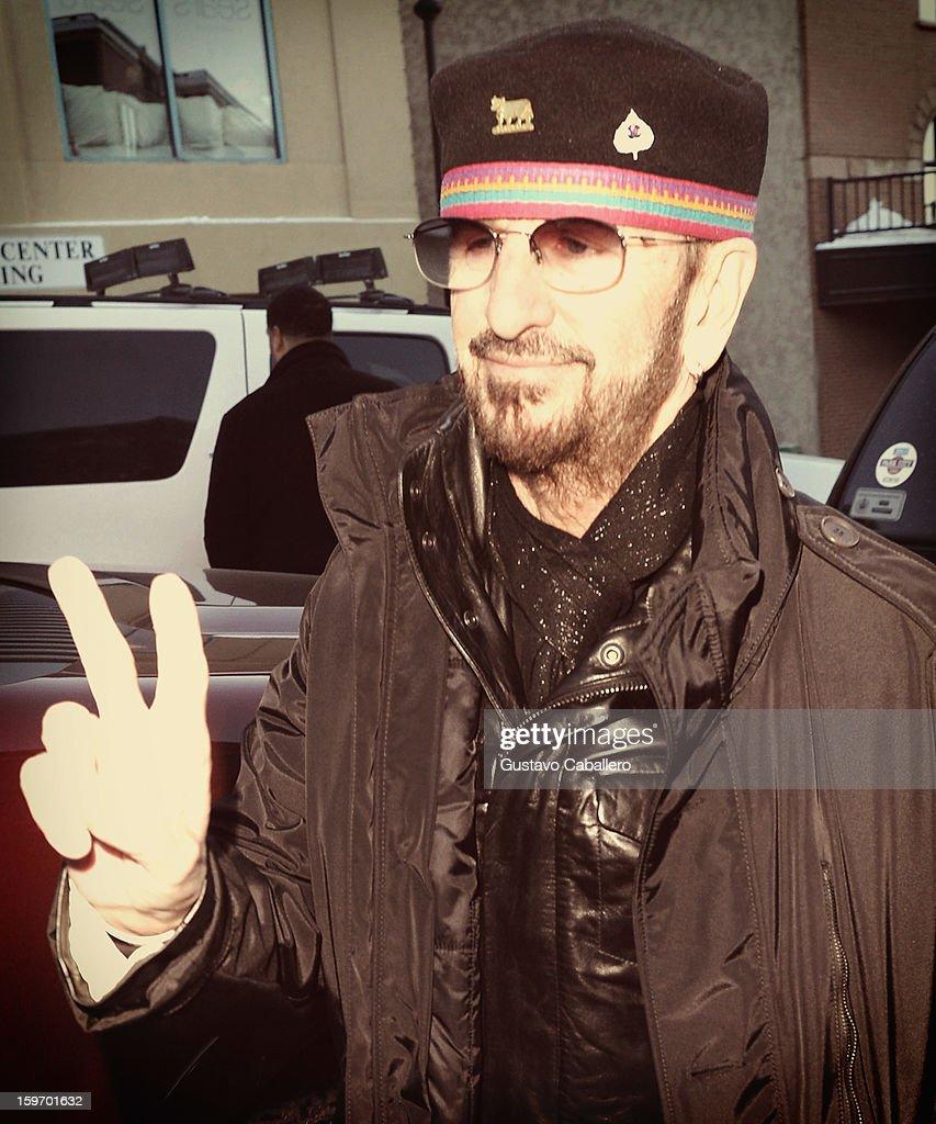 An alternate view of Ringo Starr during the 2013 Sundance Film Festival on January 18, 2013 in Park City, Utah.