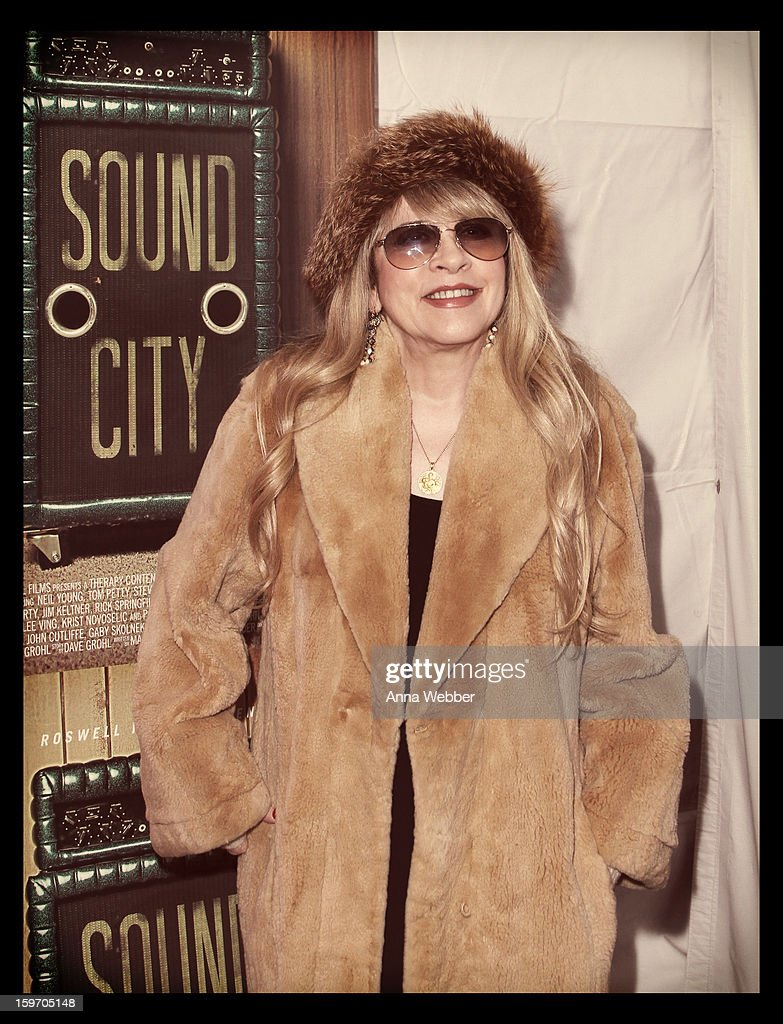 An alternate view of Stevie Nicks attending the 'Sound City' premiere during an alternate view of _ during the 2013 Sundance Film Festival on January 18, 2013 in Park City, Utah.