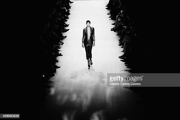 An alternative view at the Annabelle Award Show during the MercedesBenz Fashion Days Zurich 2014 on November 13 2014 in Zurich Switzerland
