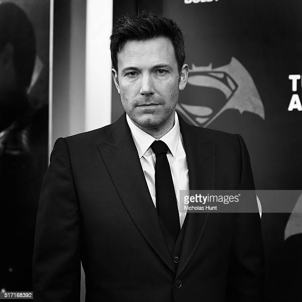 An Alternative View Of Actor Ben Affleck The 'Batman V Superman Dawn Of Justice' New York Premiere at Radio City Music Hall on March 20 2016 in New...
