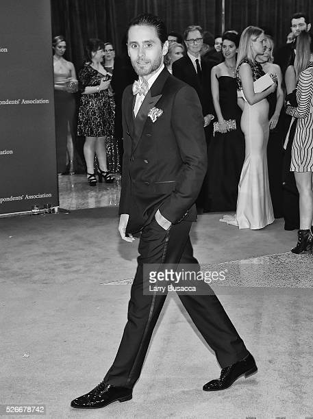 An alternative view of Actor Jared Leto at the 102nd White House Correspondents' Association Dinner Weekend on April 30 2016 in Washington DC