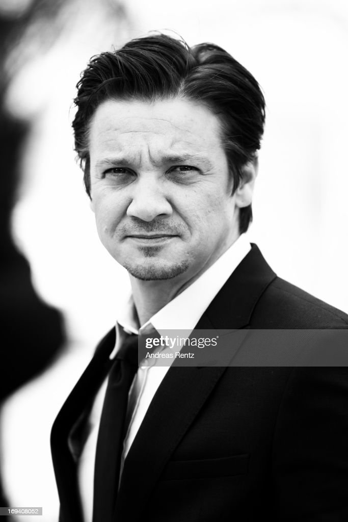 An alternative view of actor Jeremy Renner as he attends 'The Immigrant' photocall during The 66th Annual Cannes Film Festival at he Palais des Festivals on May 24, 2013 in Cannes, France.