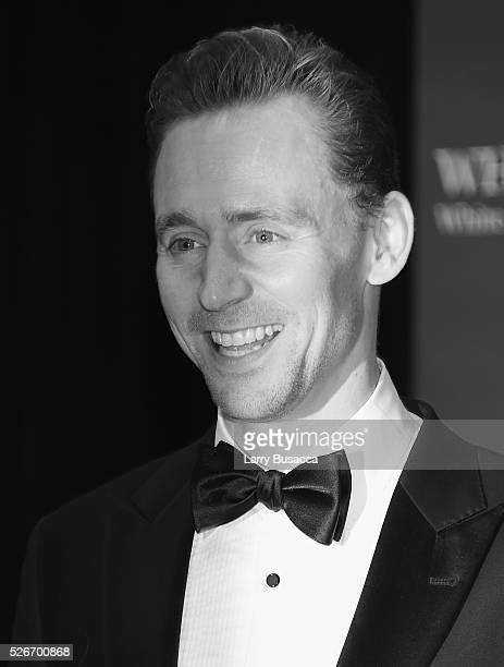 An alternative view of actor Tom Hiddleston at the 102nd White House Correspondents' Association Dinner Weekend on April 30 2016 in Washington DC