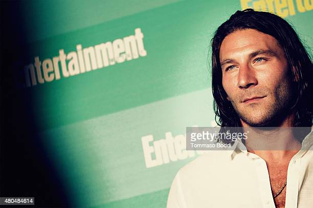 An Alternative View of actor Zach McGowan at The Entertainment Weekly ComicCon party at Float at Hard Rock Hotel San Diego on July 11 2015 in San...