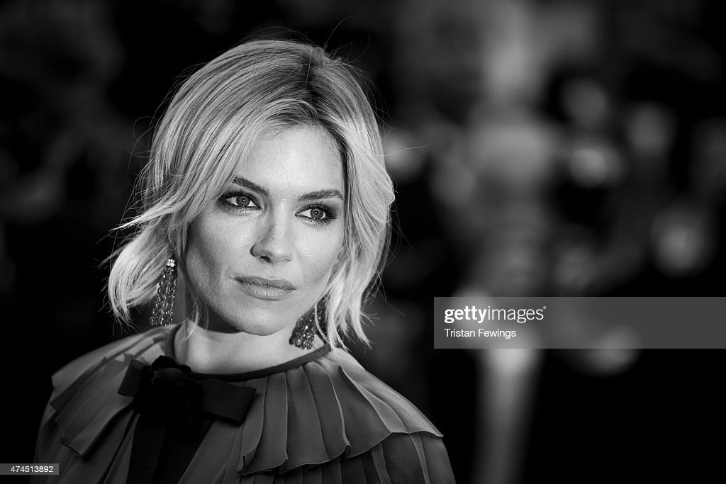 An alternative view of Actress Sienna Miller attending the Premiere of 'Macbeth' during the 68th annual Cannes Film Festival on May 23, 2015 in Cannes, France.