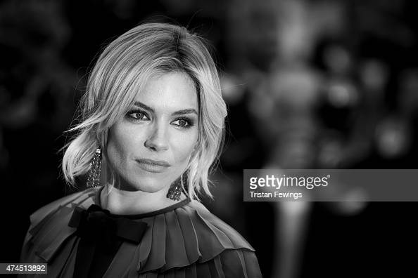 An alternative view of Actress Sienna Miller attending the Premiere of 'Macbeth' during the 68th annual Cannes Film Festival on May 23 2015 in Cannes...