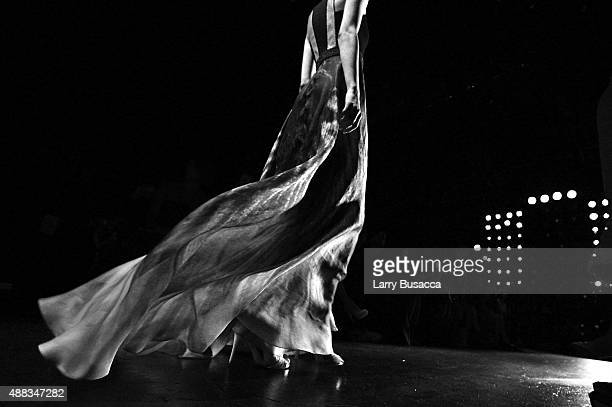 An alternative View of Carmen Marc Valvo fashion show during New York Fashion Week Spring 2016 on September 15 2015 in New York City