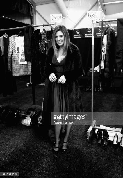 An alternative view of Daisy Fuentes during MercedesBenz Fashion Week Fall 2014 on February 7 2014 in New York City