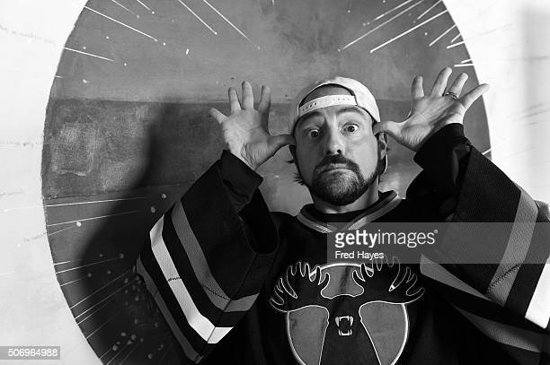 An alternative view of Director Kevin Smith at the SAG Indie Brunch for Directors at Cafe Terigo on January 25 2016 in Park City Utah