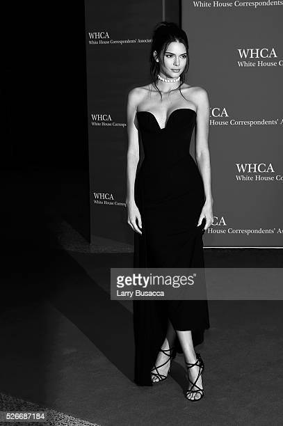 An alternative view of Kendall Jenner at the 102nd White House Correspondents' Association Dinner Weekend on April 30 2016 in Washington DC