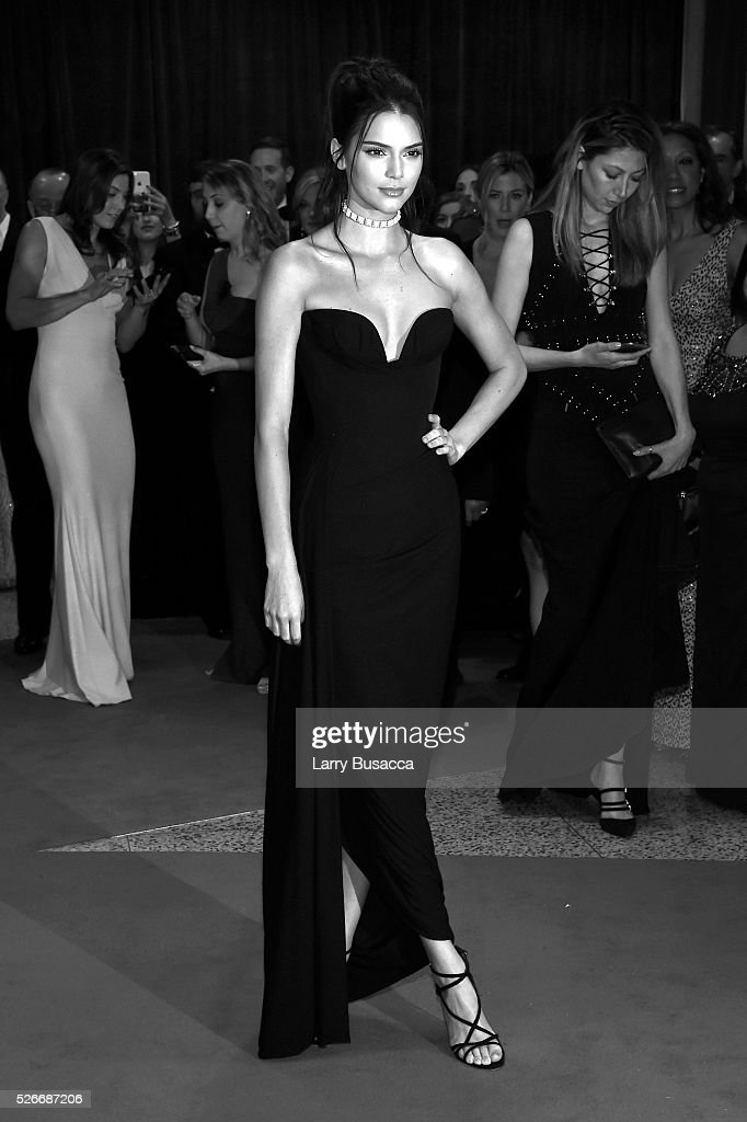 An alternative view of Kendall Jenner at the 102nd White House Correspondents' Association Dinner Weekend on April 30, 2016 in Washington, DC.