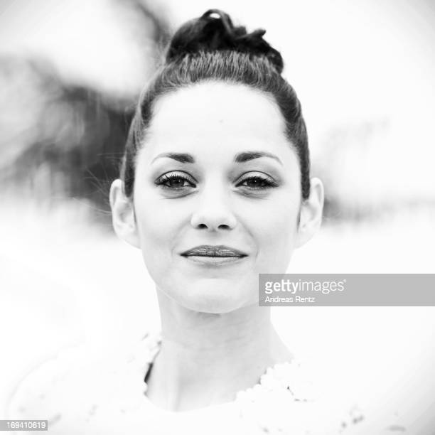 An alternative view of Marion Cotillard as she attends 'The Immigrant' photocall during The 66th Annual Cannes Film Festival at he Palais des...