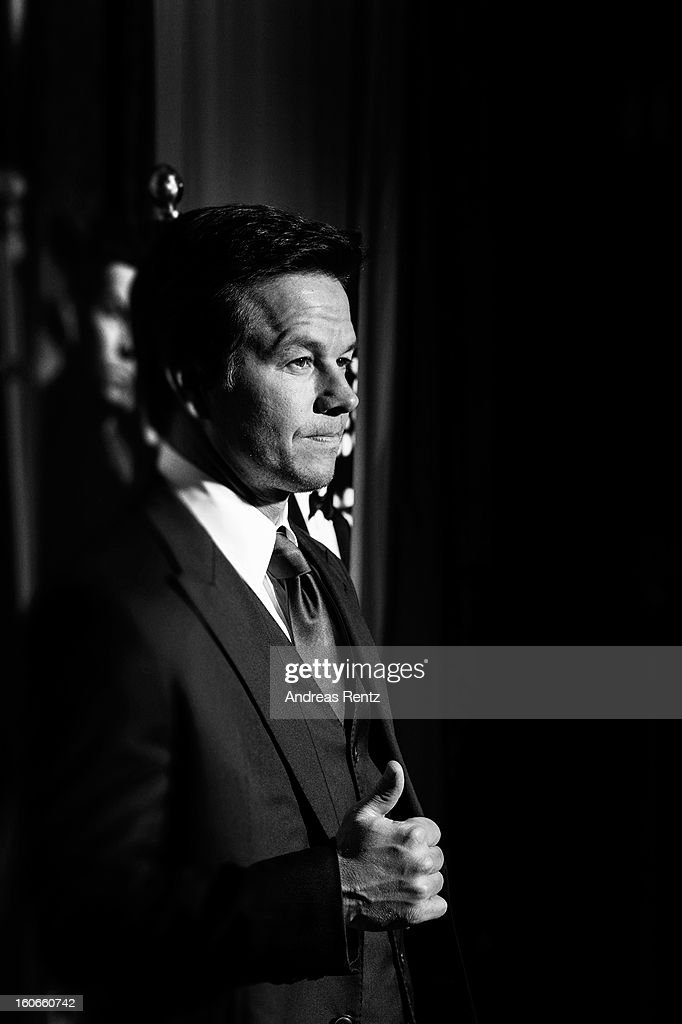 An alternative view of Mark Wahlberg at a photocall for 'Broken City' at Hotel Ritz Carlton on February 4, 2013 in Berlin, Germany.