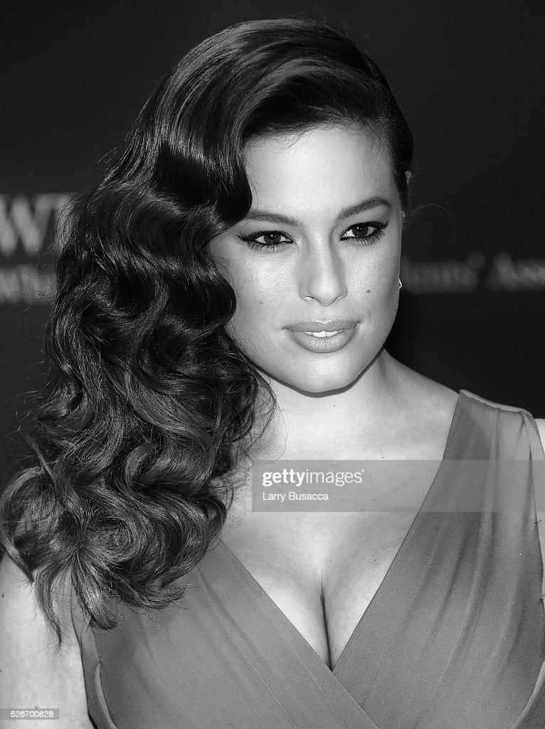 Image has been converted to black and white.) An alternative view of model Ashley Graham at the 102nd White House Correspondents' Association Dinner Weekend on April 30, 2016 in Washington, DC.