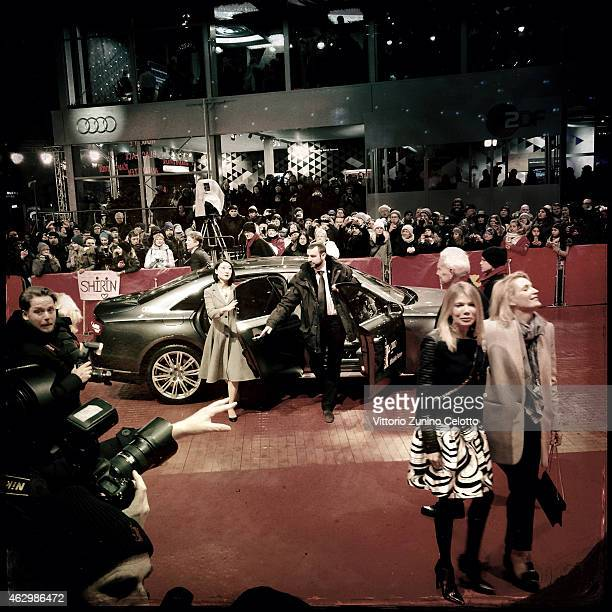 An alternative view of the 65th Berlinale International Film Festival on February 7 2015 in Berlin Germany