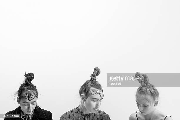 An alternative view of the RUN rehersals during London Fashion Week Spring/Summer collections 2017 on September 19 2016 in London United Kingdom
