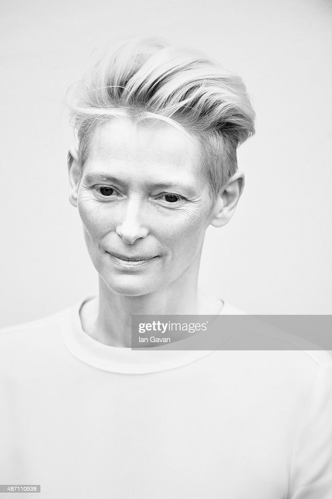 An alternative view of Tilda Swinton during the 72nd Venice Film Festival on September 6, 2015 in Venice, Italy.