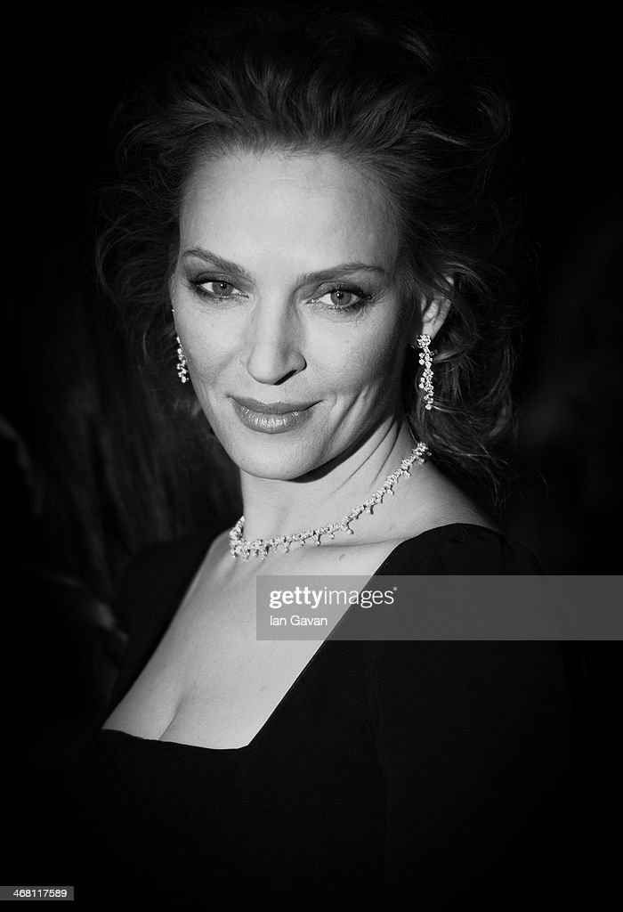 An alternative view of <a gi-track='captionPersonalityLinkClicked' href=/galleries/search?phrase=Uma+Thurman&family=editorial&specificpeople=171973 ng-click='$event.stopPropagation()'>Uma Thurman</a> at the 64th Berlinale International Film Festival on February 9, 2014 in Berlin, Germany.