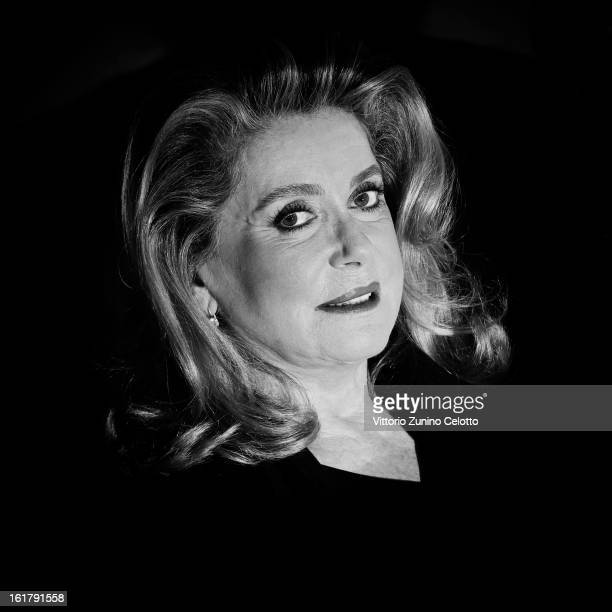 An Alternative view on actress Catherine Deneuve at the 'On My Way' Premiere during the 63rd Berlinale International Film Festival at Berlinale...