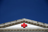 An American Red Cross building is shown August 21 2015 in Washington DC According to recent reports Gail McGovern the CEO of the American Red Cross...