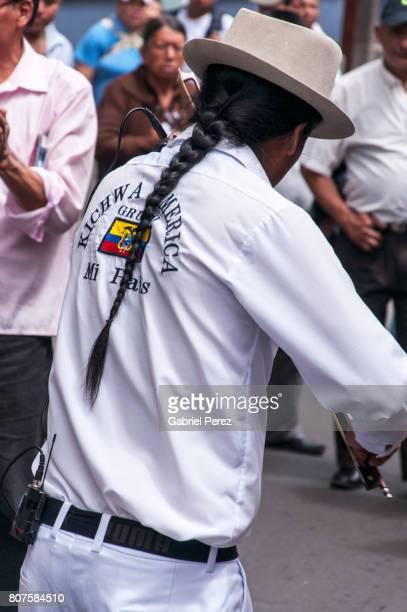 An Andean Street Performer