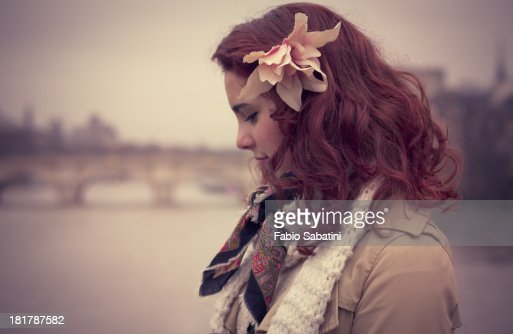 An angel in Rome : Stock Photo