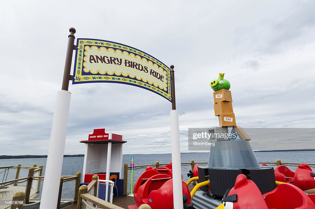 An Angry Birds theme ride for children is seen in the games area of Angry Birds Land, an activity center within the Sarkanniemi adventure park near Tampere, Finland, on Friday, May 4, 2012. Rovio Entertainment Oy reported FY sales of EU75.4m. Photographer: Juho Kuva/Bloomberg via Getty Images