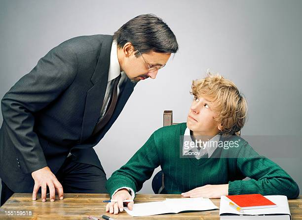 Wütende Lehrer