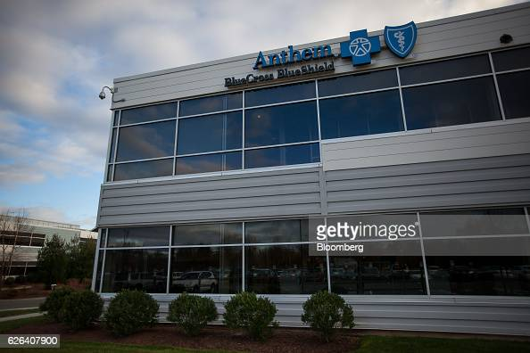 An Anthem Inc Blue Cross Blue Shield office building stands in Wallingford Connecticut US on Tuesday Nov 22 2016 Anthem Inc's proposed $48 billion...