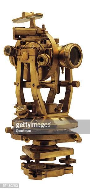 an antique navigation instrument