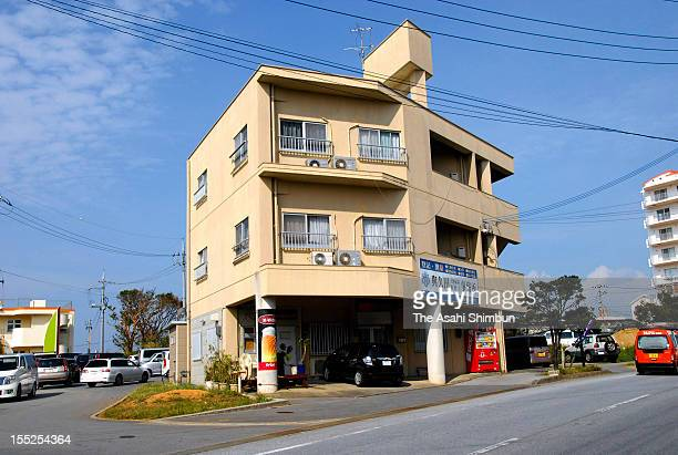 An apartment where a 13yearold boy is said to be assaulted by an US serviceman who breached a curfew on November 2 2012 in Yomitan Okinawa Japan An...