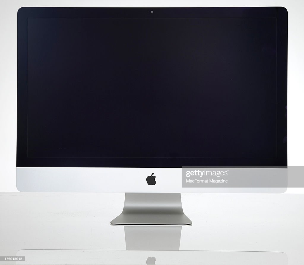 An Apple iMac photographed on a white background, taken on January 17, 2013.