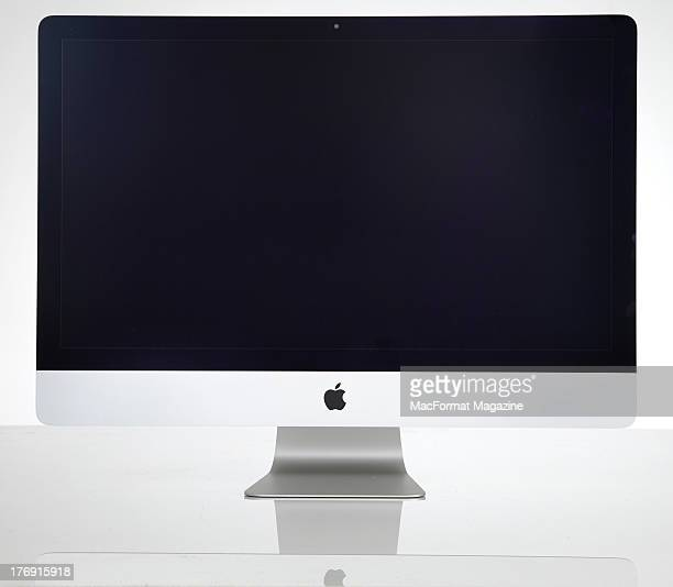 An Apple iMac photographed on a white background taken on January 17 2013