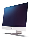 An Apple iMac with 5K Retina display taken on November 5 2014