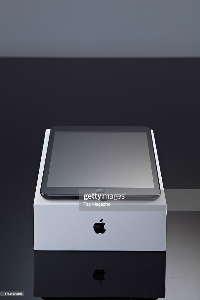 An Apple iPad Mini tablet computer photographed during a studio shoot for Tap Magazine, November 29, 2012.