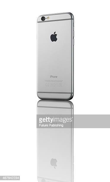An Apple iPhone 6 smartphone with a Space Grey finish taken on October 20 2014