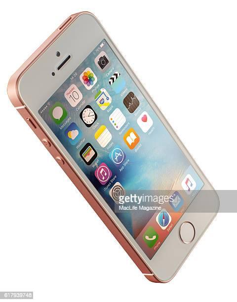 An Apple iPhone SE smartphone taken on April 10 2016