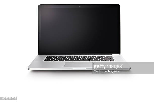 An Apple MacBook Pro with Retina Display photographed on a white background taken on November 29 2013