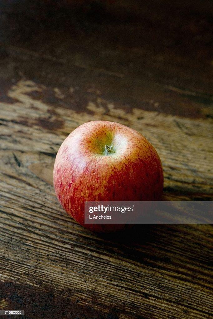An apple. : Stock Photo