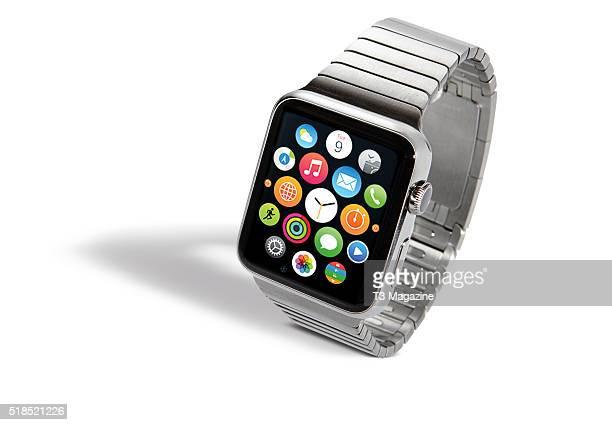 An Apple Watch smartwatch taken on August 12 2015