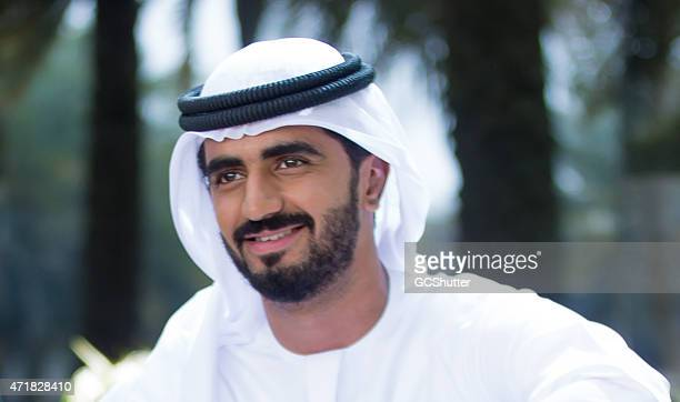 An Arab man, UAE National