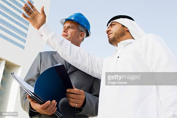 An architect and a middle eastern businessman