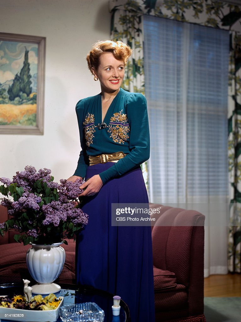 An ardent garden enthusiast Mary Astor charming mistressofceremonies of CBS Radios Hollywood Showcase might have grown these spring lilacs to...
