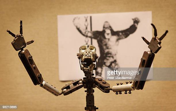 An armature model of King Kong used in the 1933 film is displayed at Christie's on November 19 2009 in London The model is part of the 'Pop Culture...