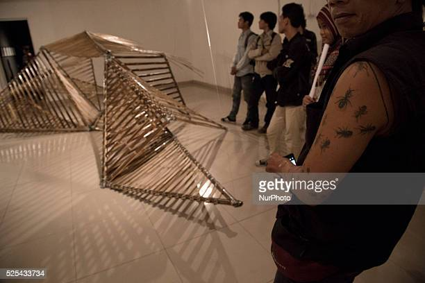 An art installation about freedom Indonesia National Gallery at Jakarta held an exhibition called quotRuang Baruquot from 23 participanta artist both...