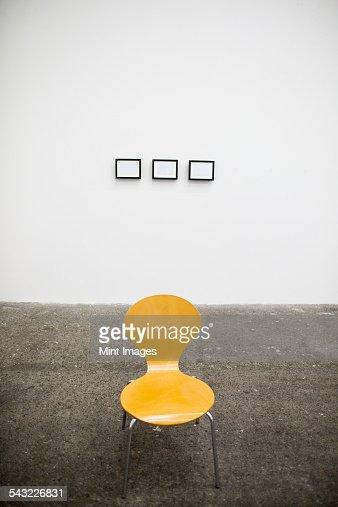 An art studio.