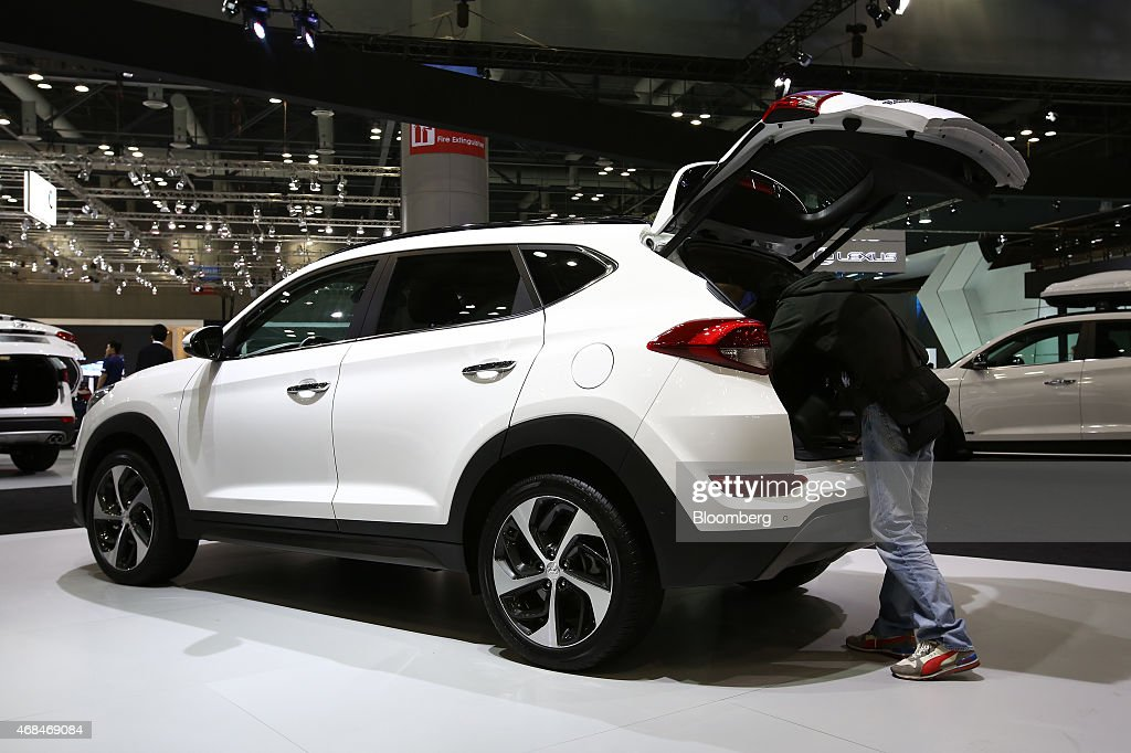 Inside the seoul motor show getty images for Motor vehicle department tucson