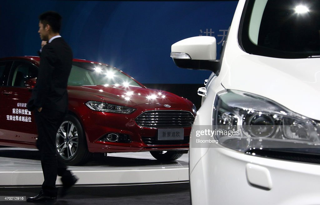 ford motor co media event ahead of auto shanghai 2015 getty images. Cars Review. Best American Auto & Cars Review