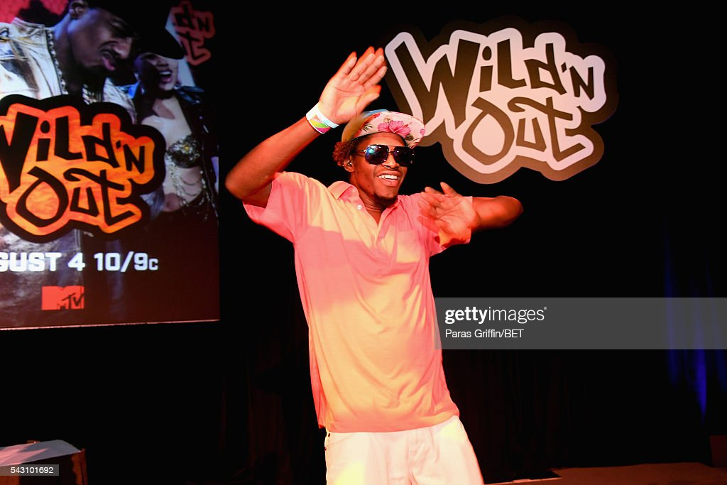 An audience member performs onstage at MTV Wild N Out live show during the 2016 BET Experience on June 25, 2016 in Los Angeles, California.